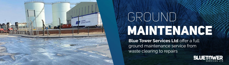 Ground Maintenance Service banner