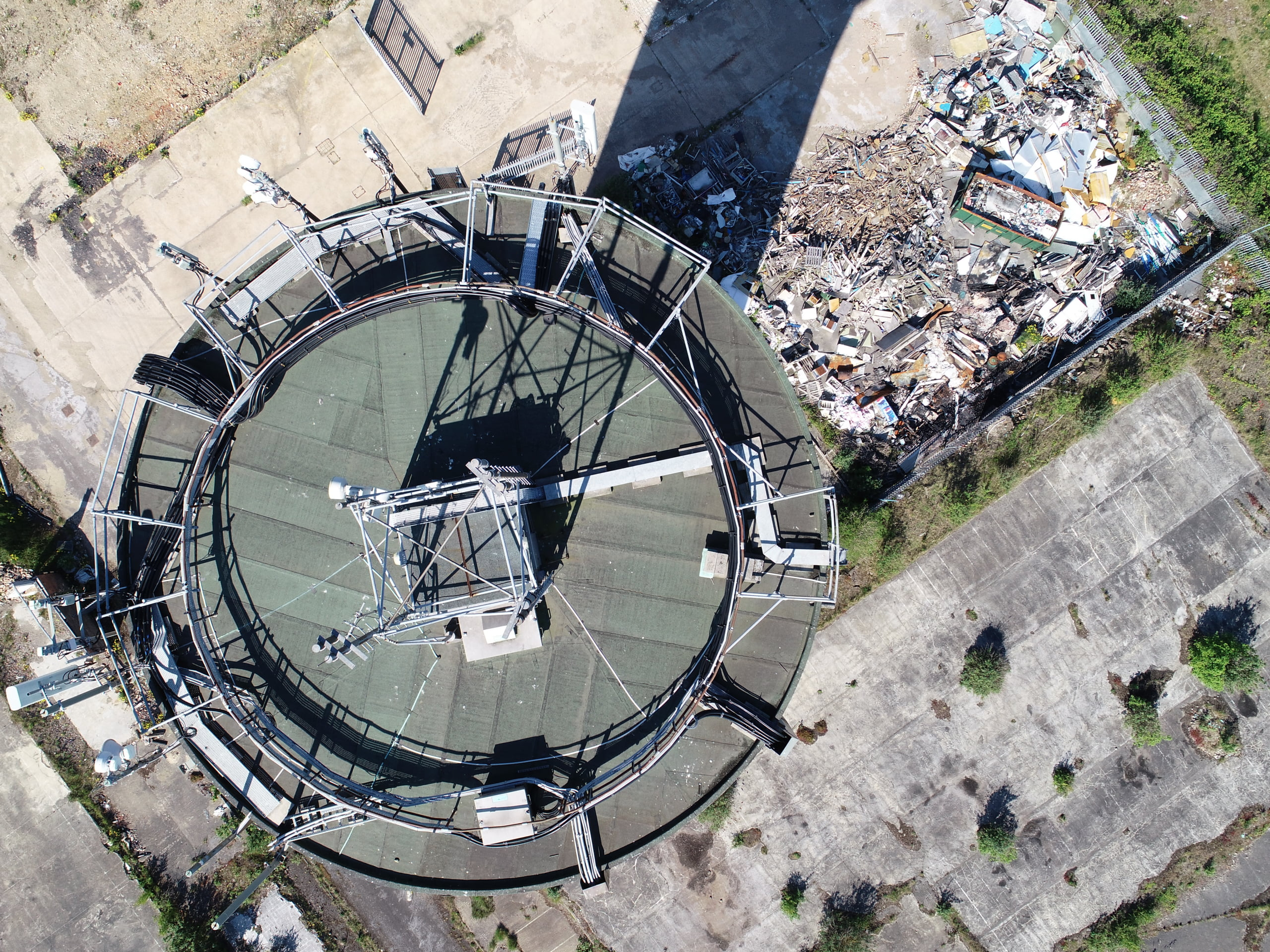 drone roof surveys high resolution photography