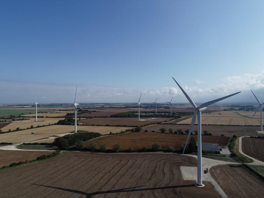Drone windfarm surveys