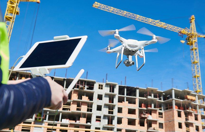 drone construction surveys, drone building surveys, modelling and photography
