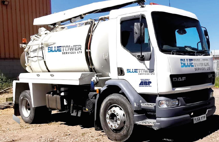 vacuum tanker gully cleaning