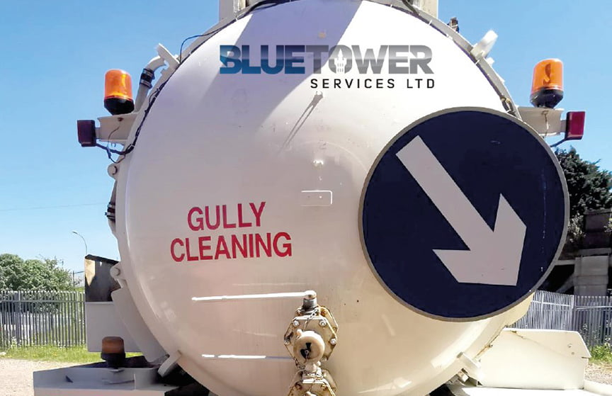 gully sucking blue tower services