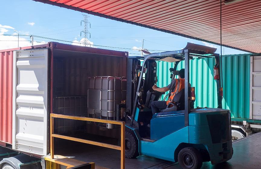 labour service goods handler forklift driver