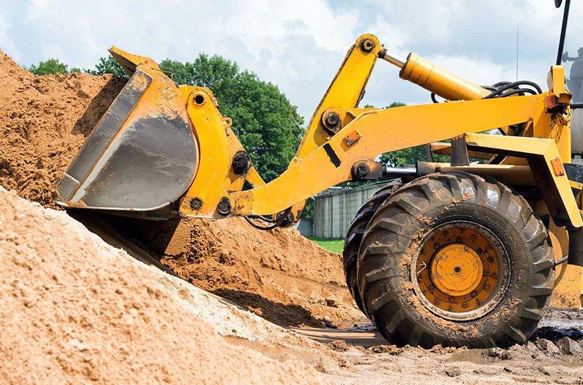 labour service shovel loader driver hire